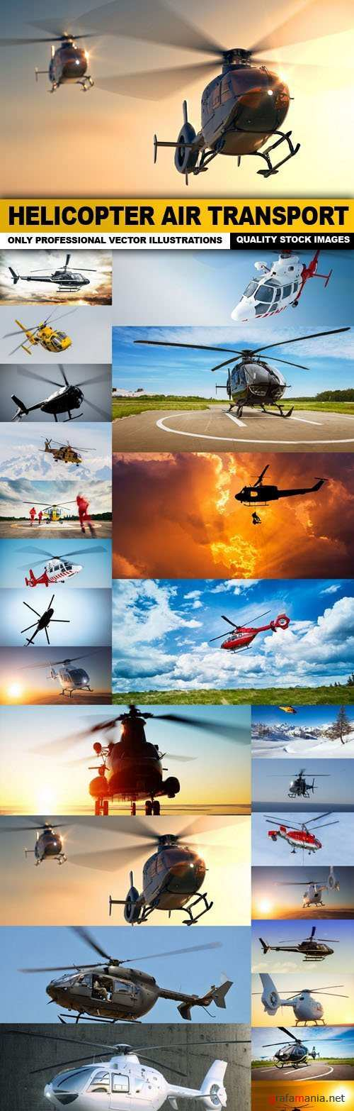 Helicopter Air Transport - 25 HQ Images