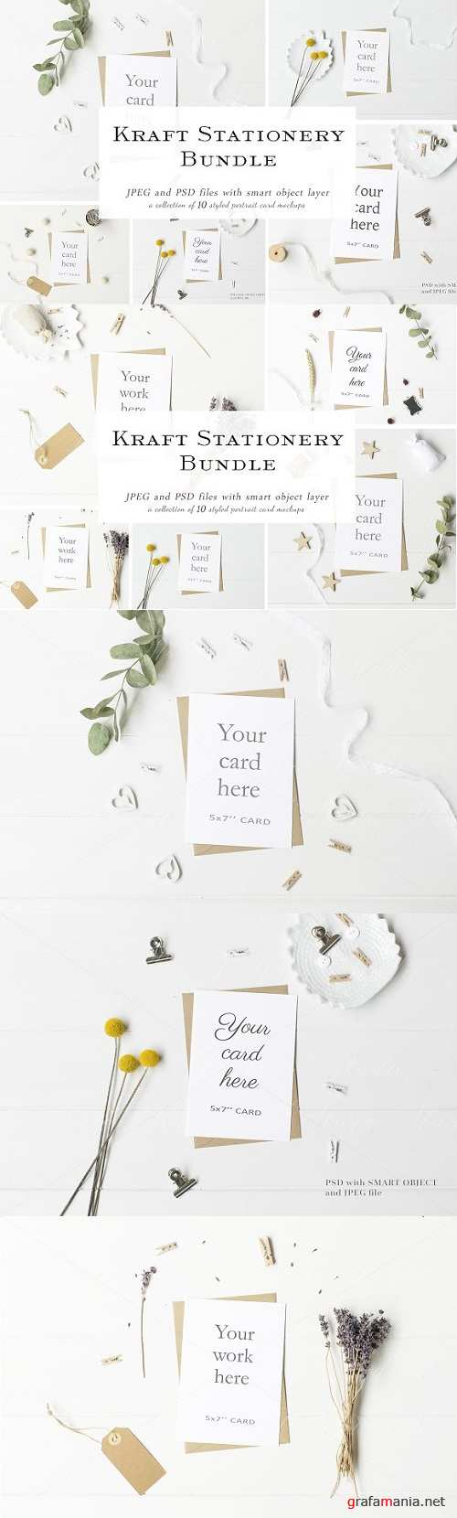 Stationery Mock Up Bundle 2177190