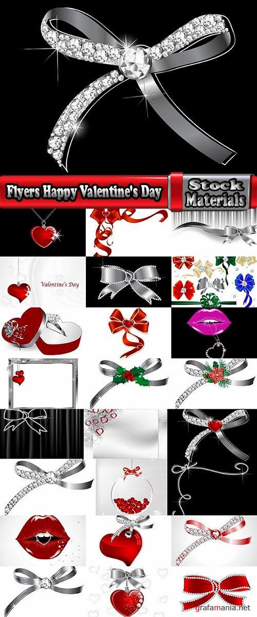 Flyers Happy Valentine's Day # 7-25 Eps