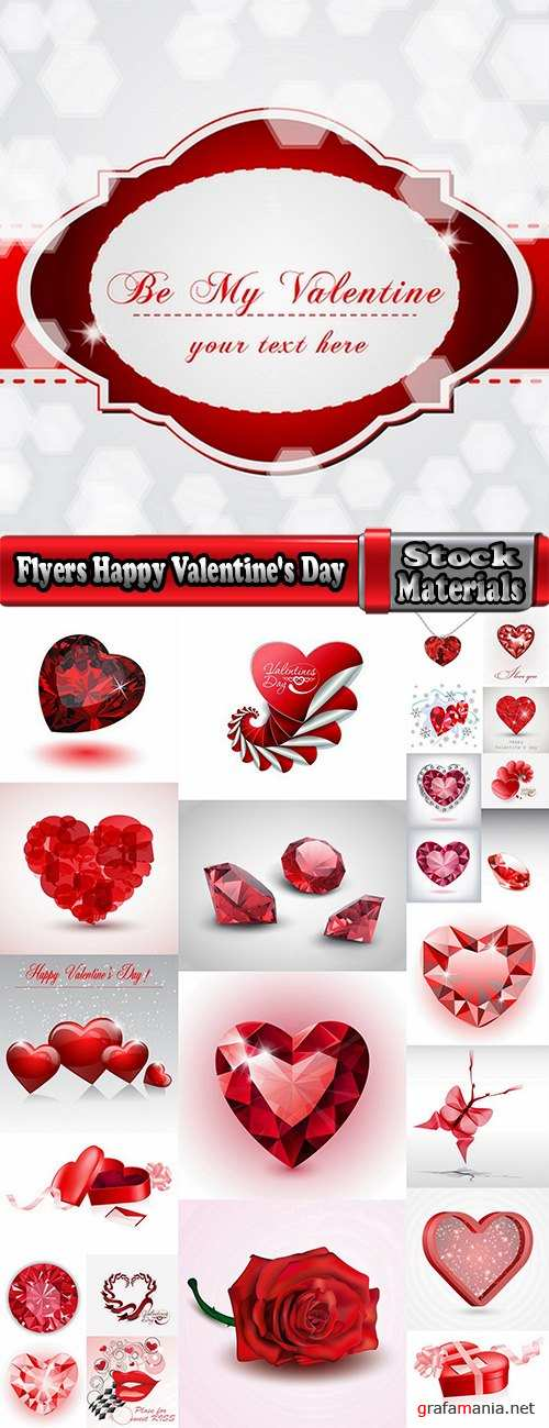 Flyers Happy Valentine's Day # 2-25 Eps