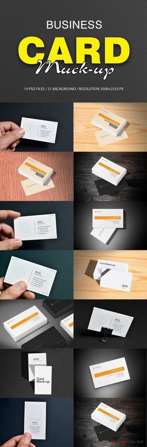 Business Card Mockups - 1965875