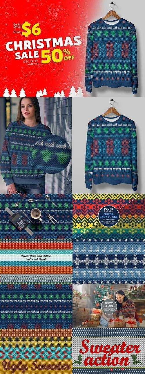 Ugly Christmas Sweater Action 2108552