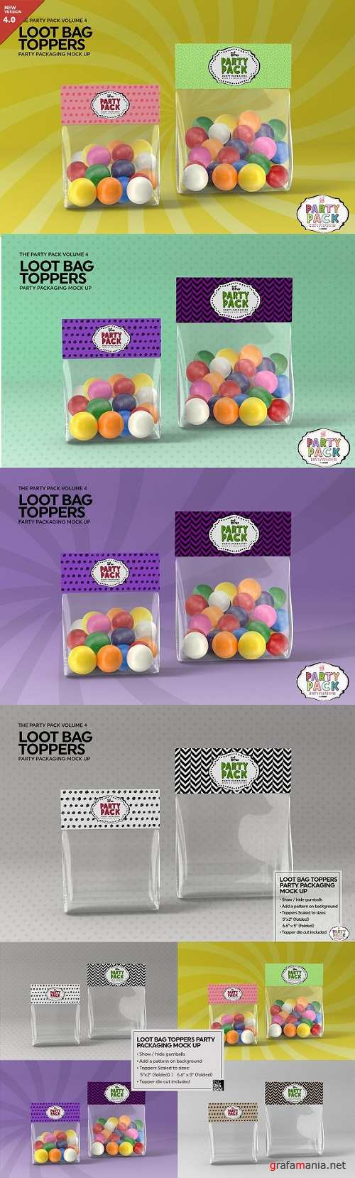 Loot Bag Packaging Mock Up - 2198508