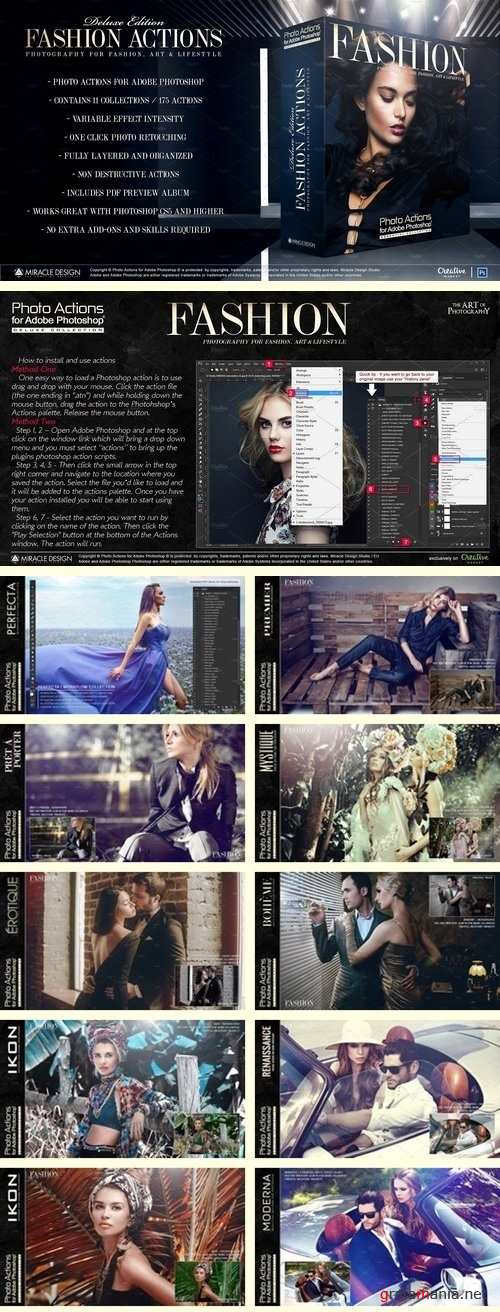 Actions for Photoshop / Fashion 2018663