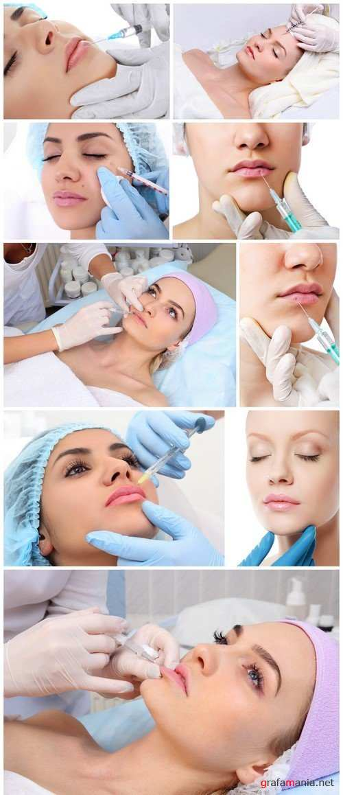 Surgery concept Hyaluronic acid injection 9X JPEG