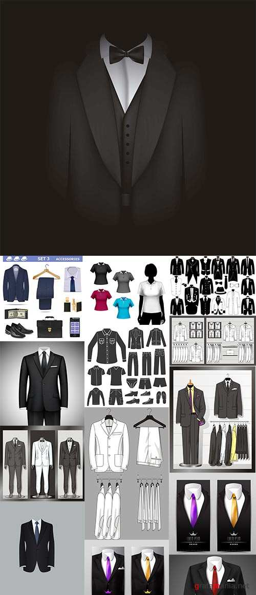 Suits Collection 25xEPS