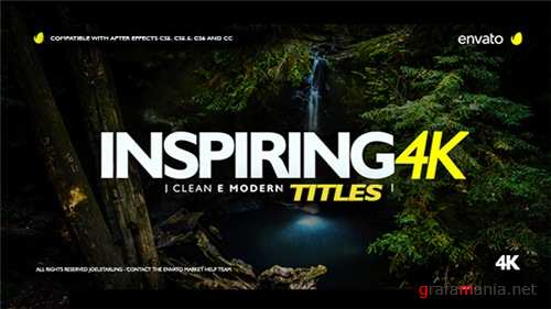 Inspiring Titles 2.0 - After Effects Project (Videohive)