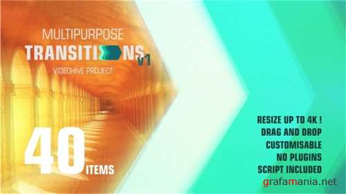 Transitions 20737863 - After Effects Project (Videohive)