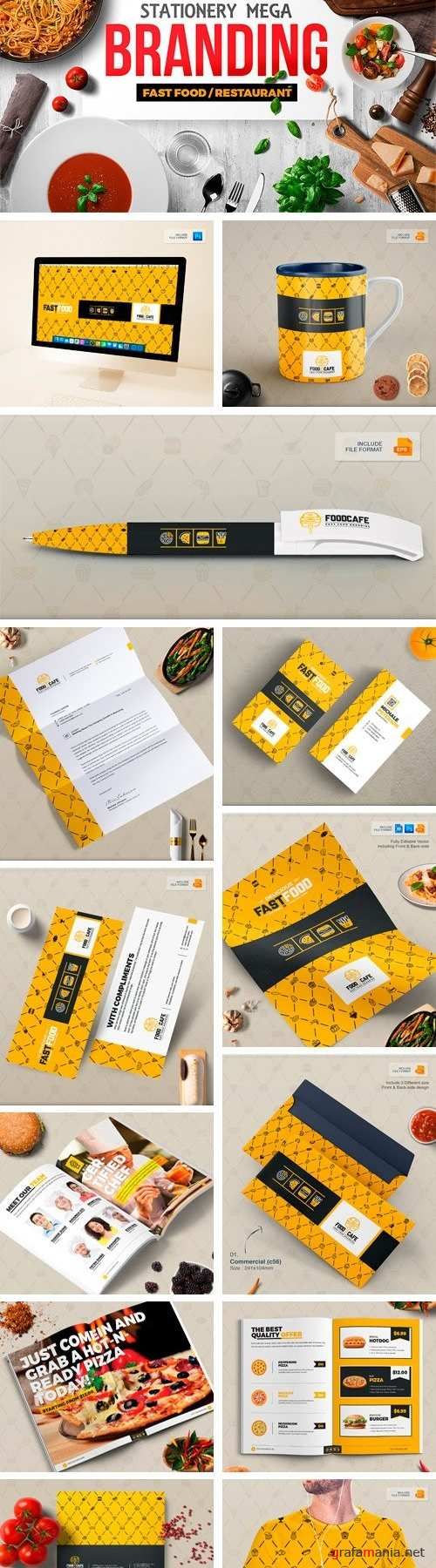 Branding Identity for Fast Food - 2123409 - 20193465