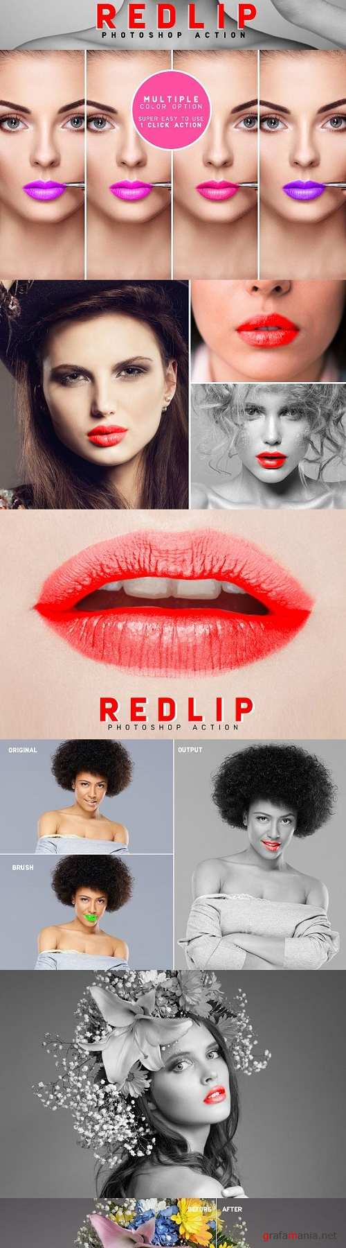 RedLip Photoshop Action 2166420
