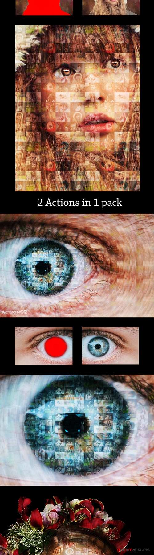 Photollage Ps Action Pack Ver 1.0 21194060