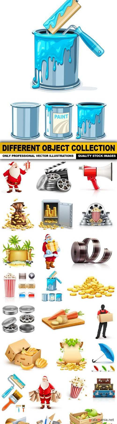 Different Object Collection - 25 Vector