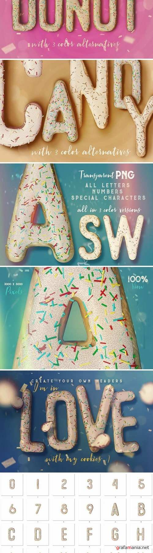 Get Your Cookie - 3D Lettering 2120383
