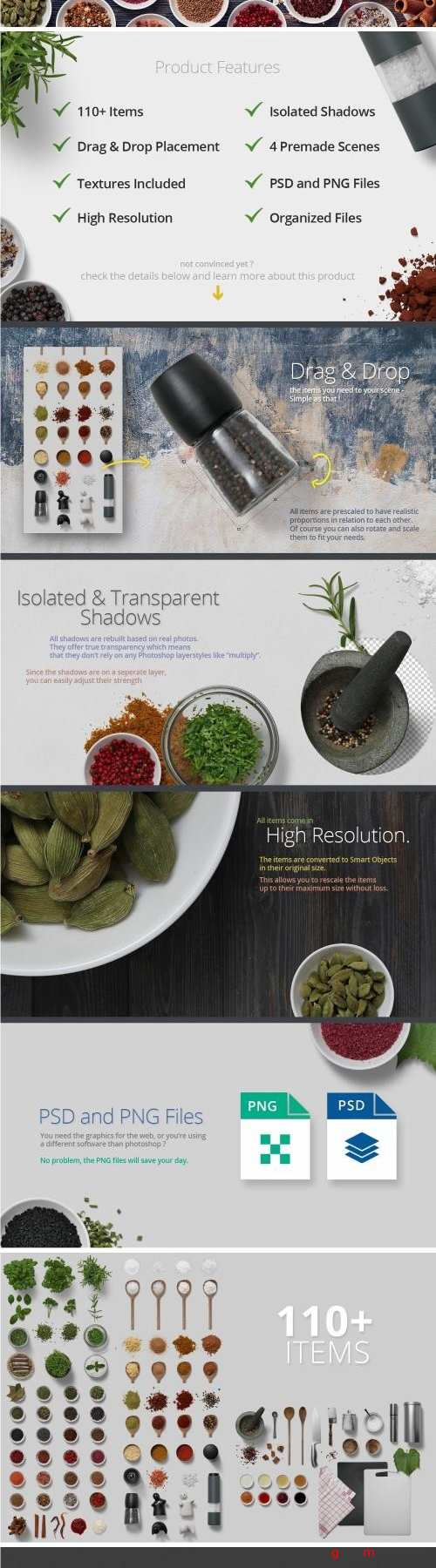 Herbs & Spices - Isolated Food Items - 2210606