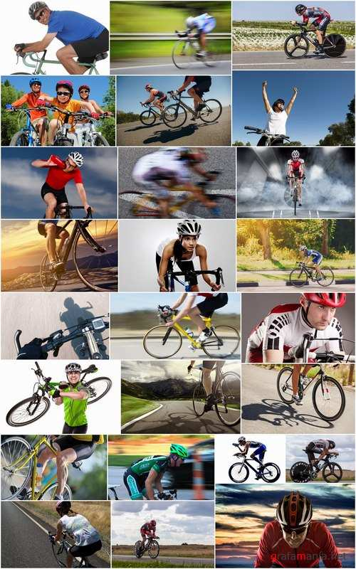 Cycling marathon racing cyclist bike race racer road bike 25 HQ Jpeg