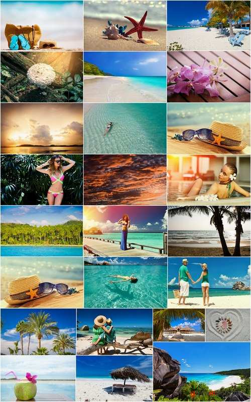 Vacation tourism holiday island beach sea ocean sky sunset tree 25 HQ Jpeg