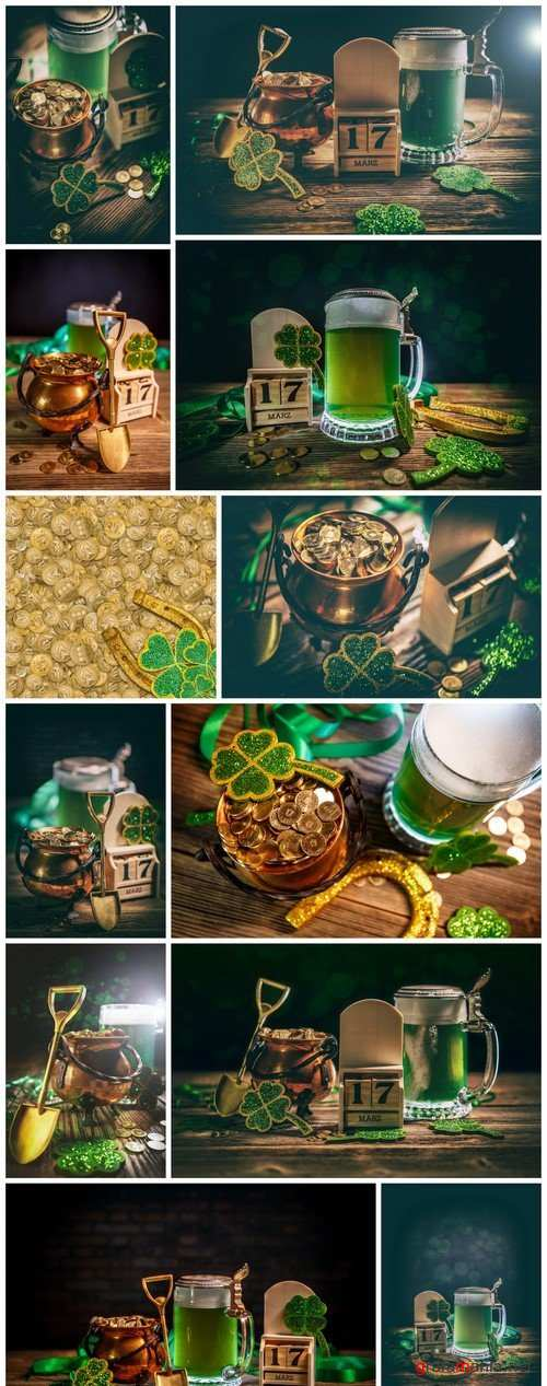 Composition for St. Patricks Day 12X JPEG