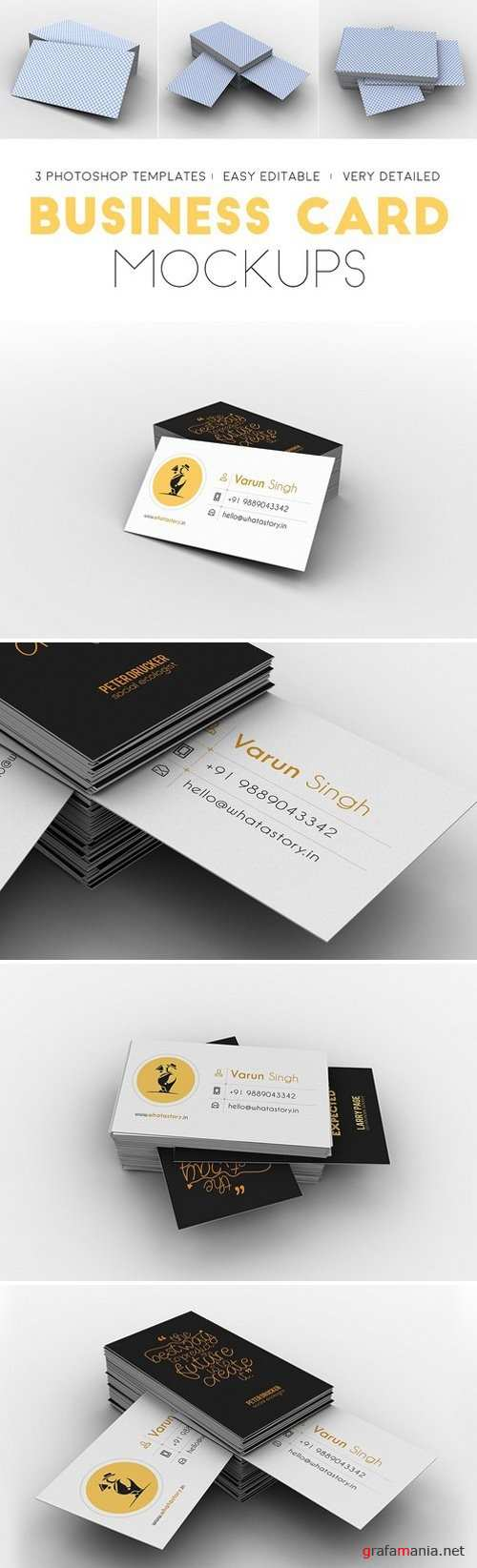 Professional Business Card Mockups 2176253