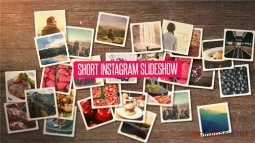 Short Instagram Slideshow - After Effects Project (Videohive)