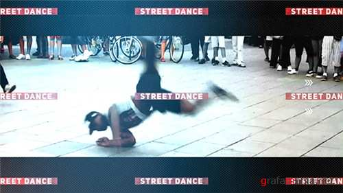 Street Dance Opener - After Effects Project (Videohive)