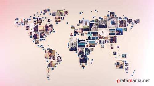 World Photos Slideshow - After Effects Project (Videohive)