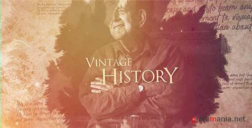 Vintage History - After Effects Project (Videohive)