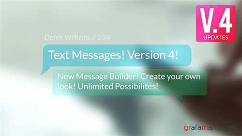 Text Messages 9450049 - After Effects Project (Videohive)