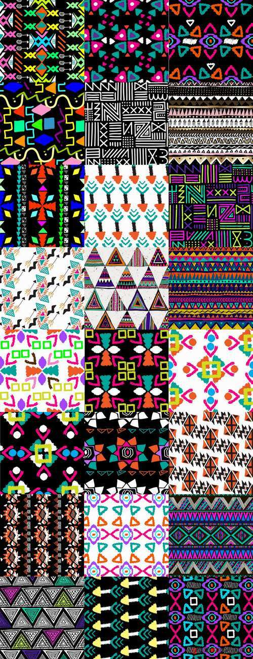 Pattern for the fabric background is Navajo 24 EPS