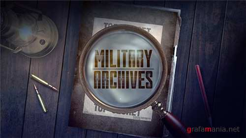 Military Archive Packages - After Effects Project (Videohive)
