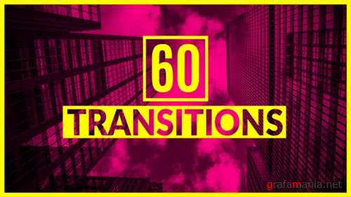60 Transitions - After Effects Project (Videohive)