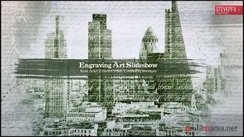 Engraving Art Slideshow - After Effects Project (Videohive)