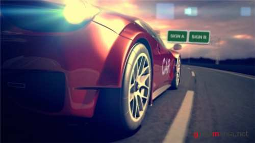 Car Racing Reveal - After Effects Project (Videohive)