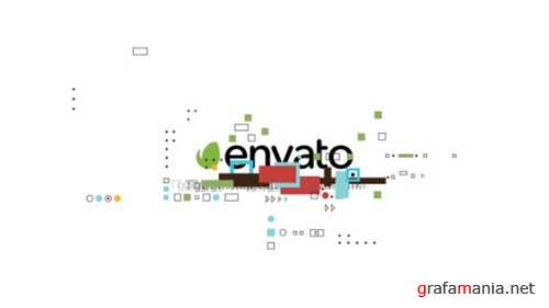 Shape Glitch Logo - After Effects Project (Videohive)