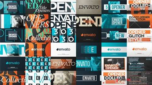Typo Opener Pack - After Effects Project (Videohive)