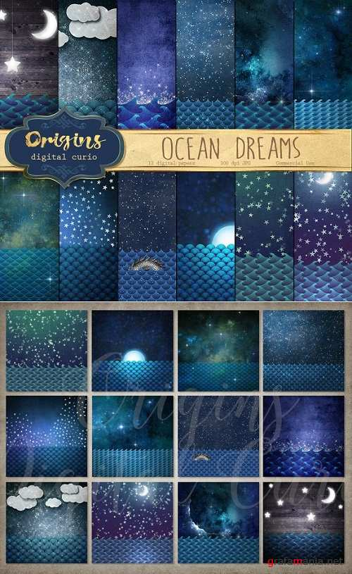 Ocean Dreams Backgrounds - 888290