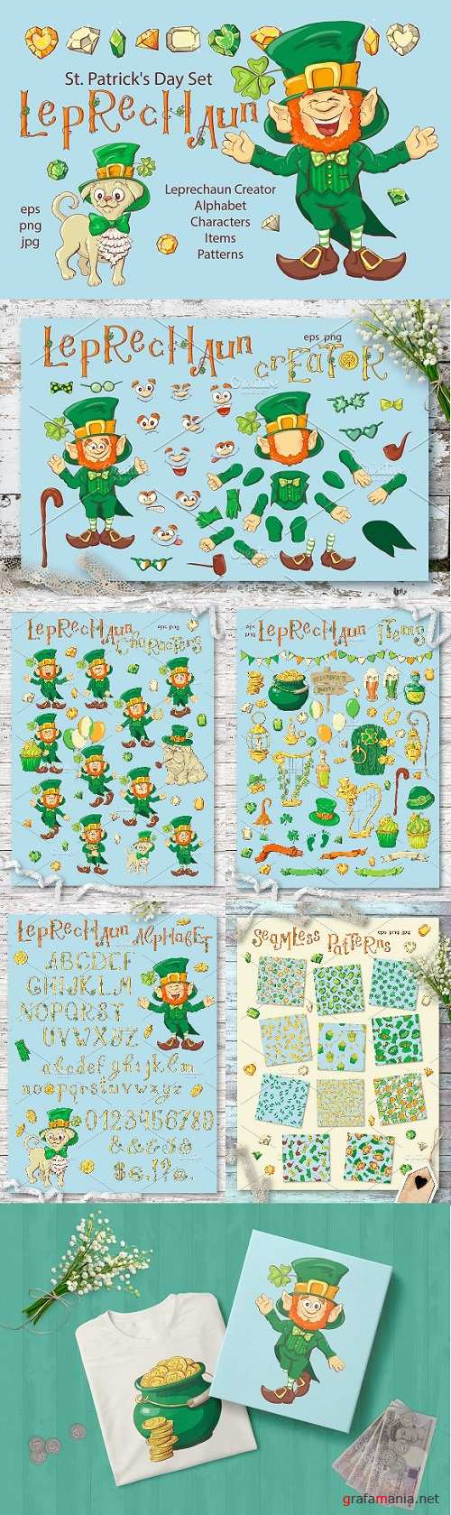 Leprechaun – St. Patrick's Day Set 2231895