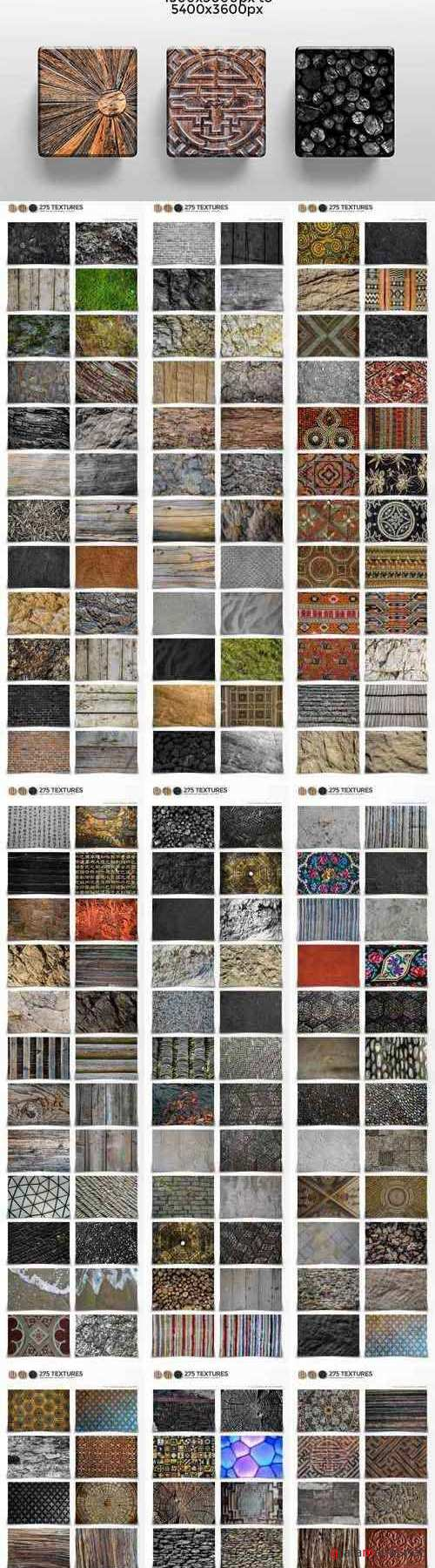 275 Textures From Around the World 1788384