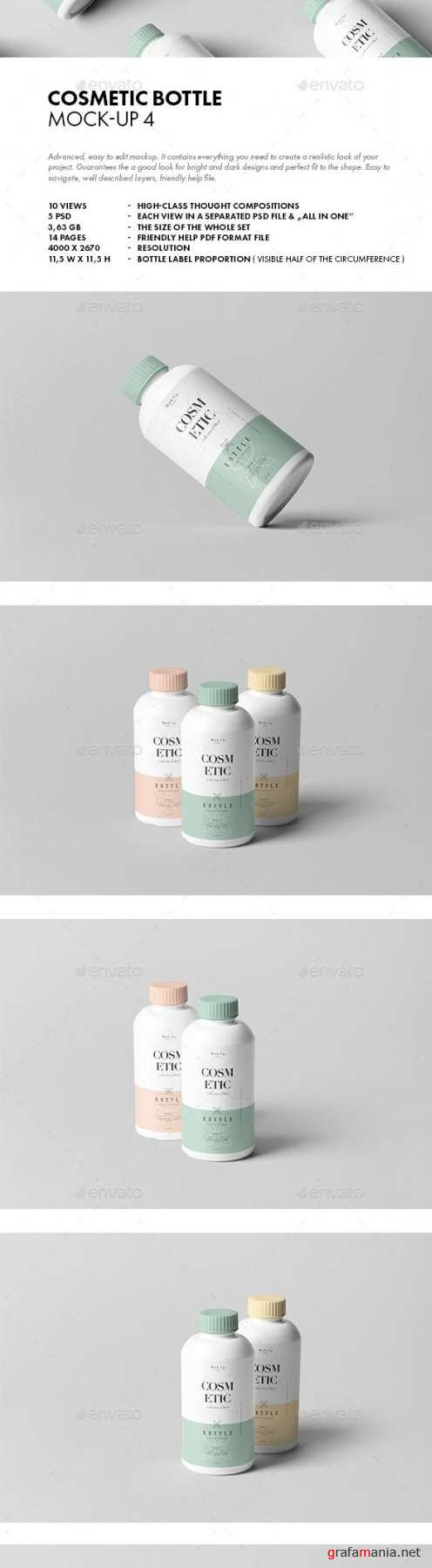 Cosmetic Bottle Mock-up 4 - 21337398