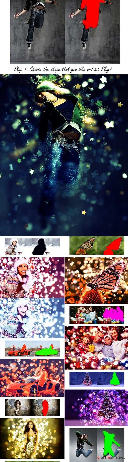 Bokeh Photoshop Action - 9724816