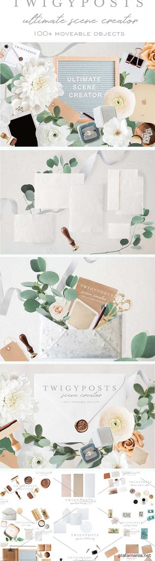 Movable Scenes | Stationery Mockups - 2263660