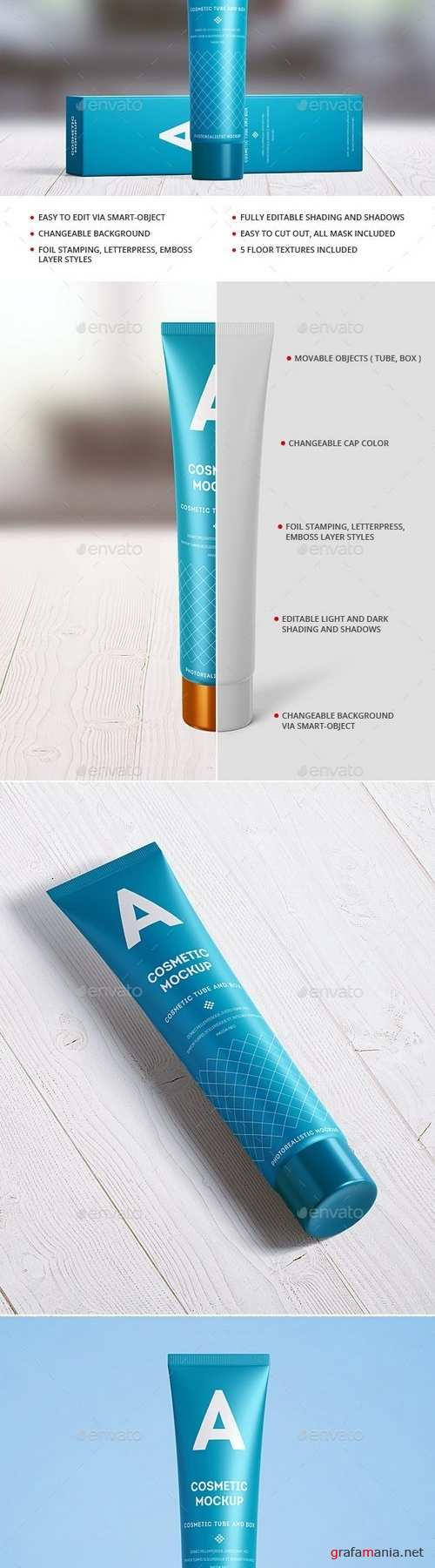 Cosmetic Tube Mock-up - Long - 21306272