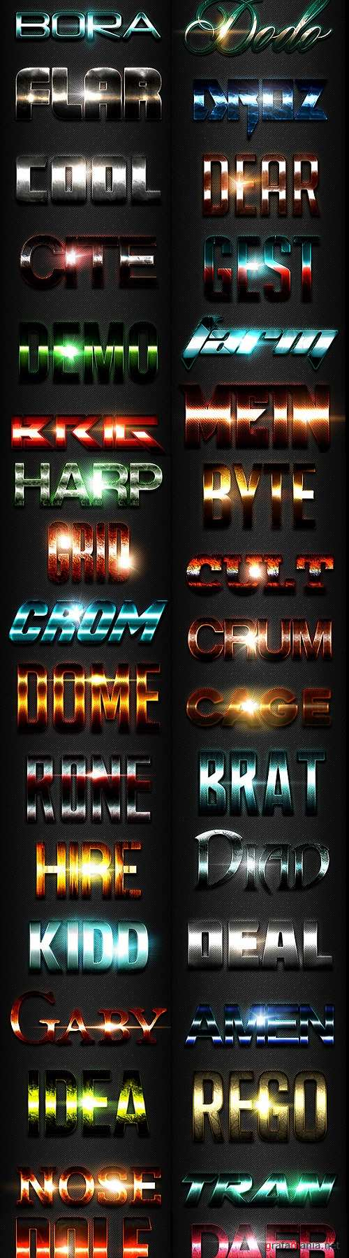 50 Text Effects - Bundle Vol. 04 21345125