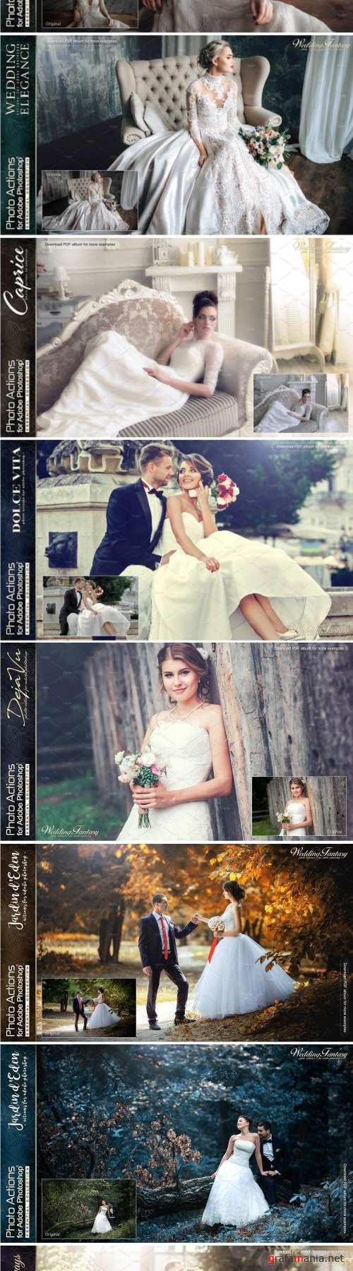 Actions for Photoshop / Wedding 2174196