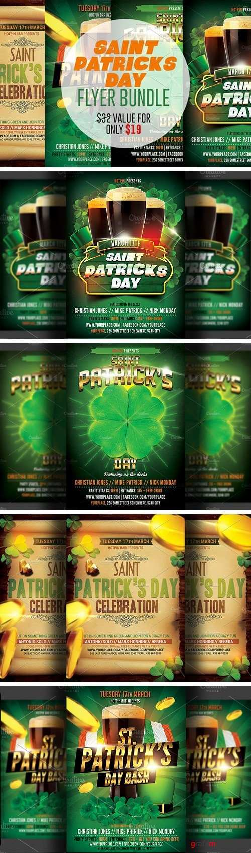 St. Patricks Flyer Bundle 2299648