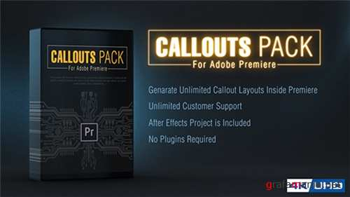 Callout Line Pack For Premiere - After Effects Project (Videohive)