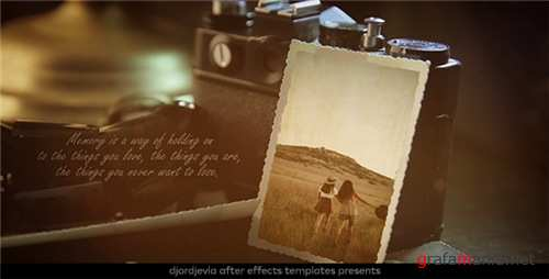 Vintage Lovely Memories - After Effects Project (Videohive)