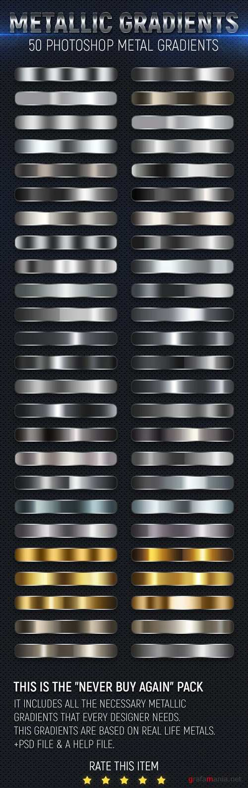 50 Metal Gradients 21617597