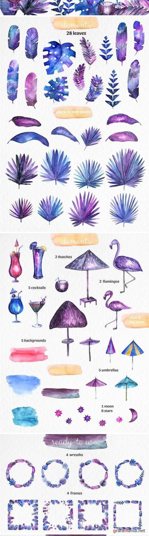 magic objects & clipart, PSD+PNG+JPG - 1570204