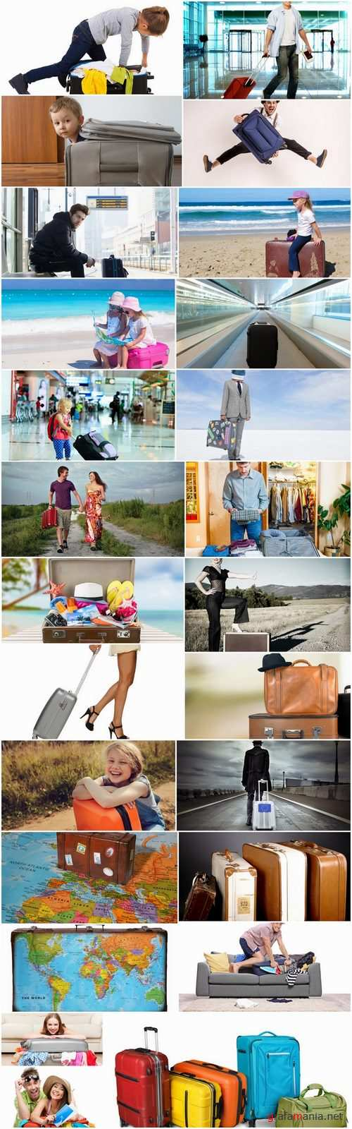 Bag valise inventory for tourism travel vacation holiday 25 HQ Jpeg