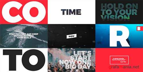Typo Opener - After Effects Project (Videohive)